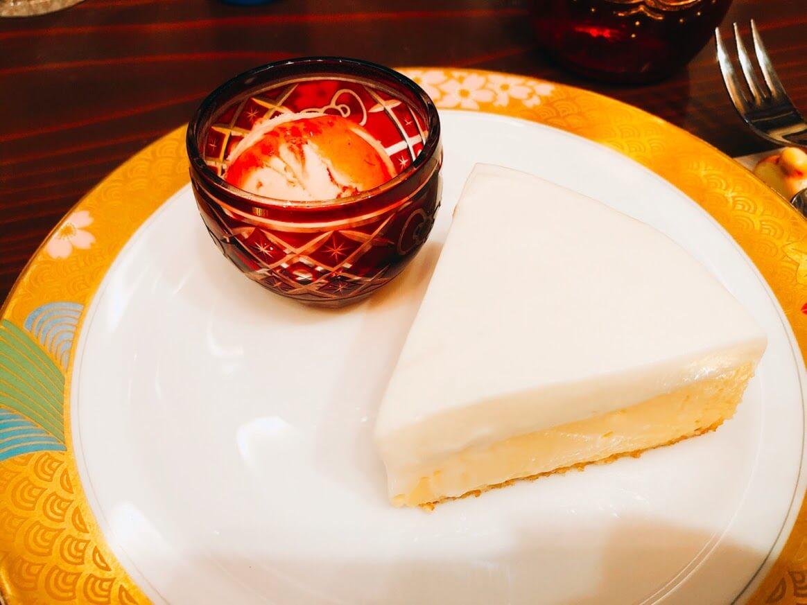 アメ横ダンケ-レアチーズケーキ