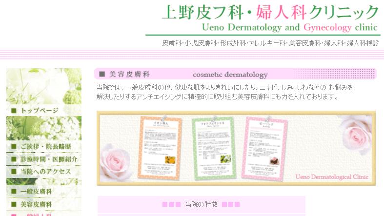 上野皮膚科婦人科