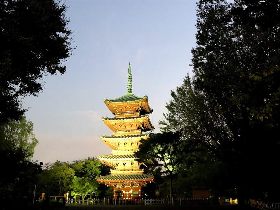 上野動物園-五重塔