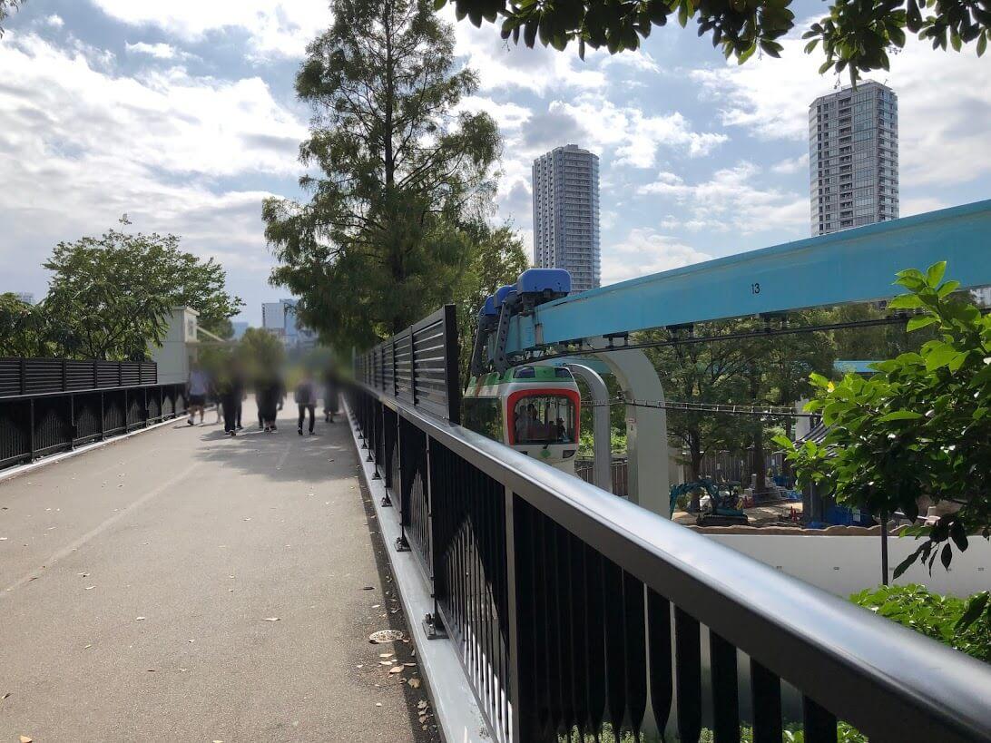 上野動物園-モノレール