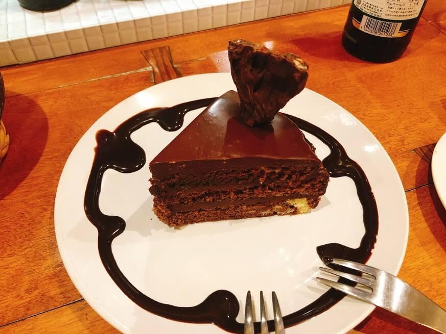 ヒチカケーチョコレートケーキ