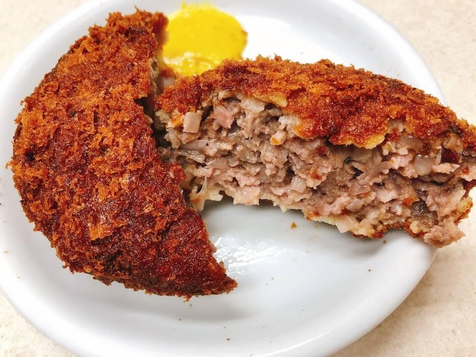 肉の大山-メンチカツ