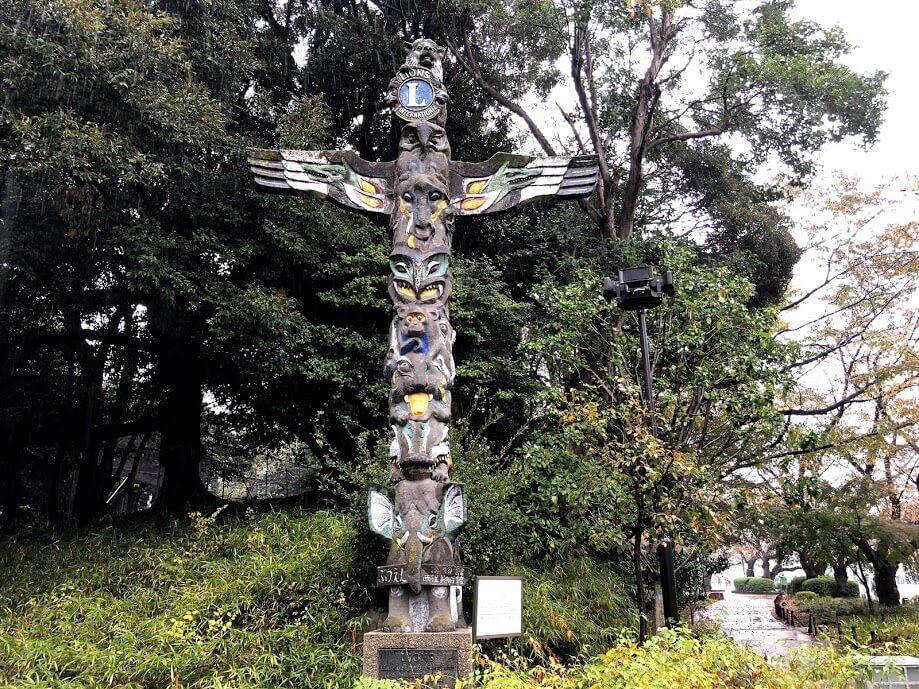 トーテムポール-上野公園