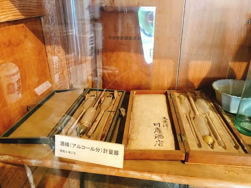 吉田屋酒店-酒精計量器