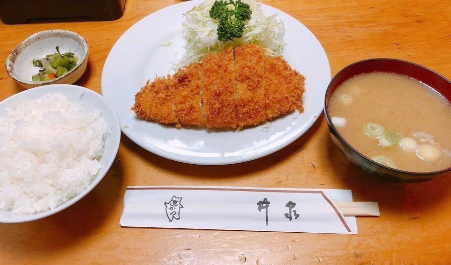 井泉本店-ロース定食