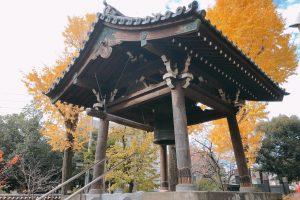 四代将軍家綱公御霊廟の梵鐘