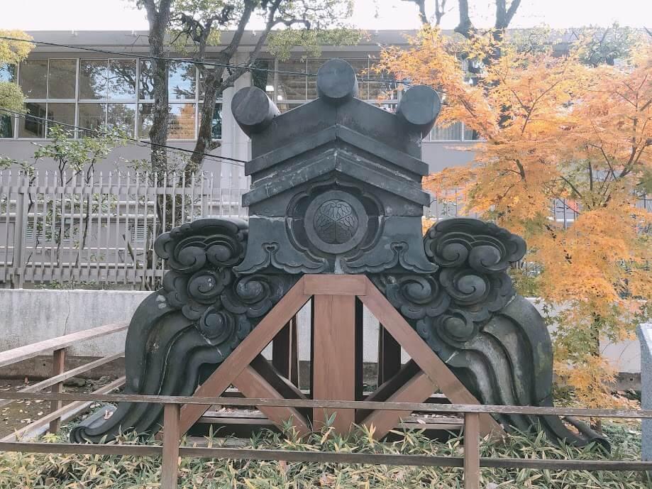 寛永寺鬼瓦