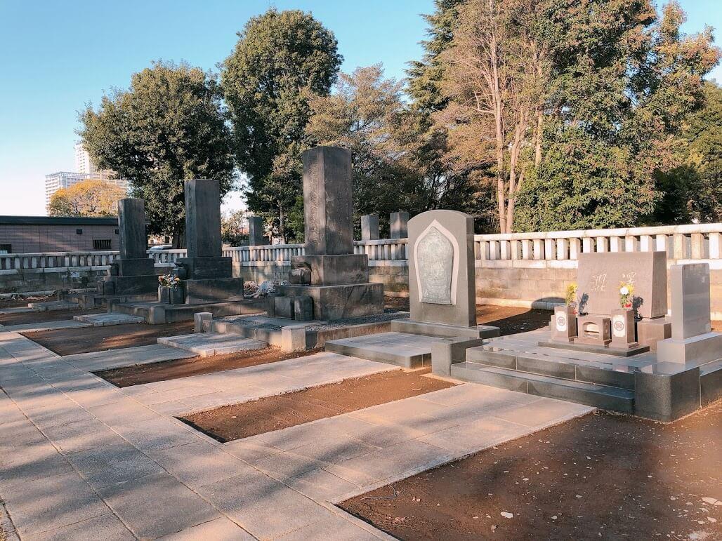 渋沢栄一墓