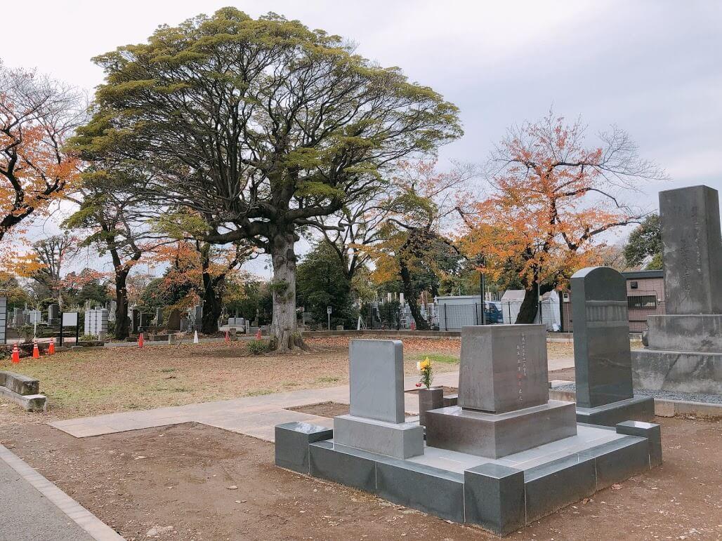 渋沢栄一お墓