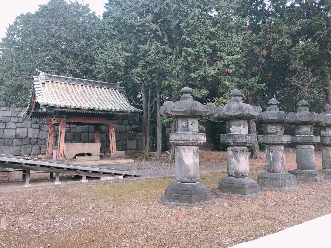 徳川歴代将軍御霊廟