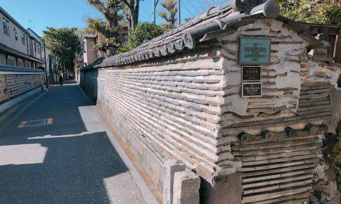 観音寺築地塀