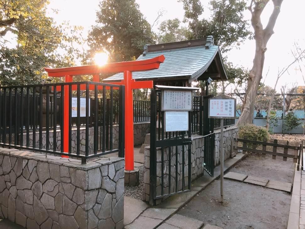 上野東照宮-栄誉権現社