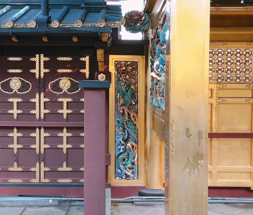 上野東照宮-唐門