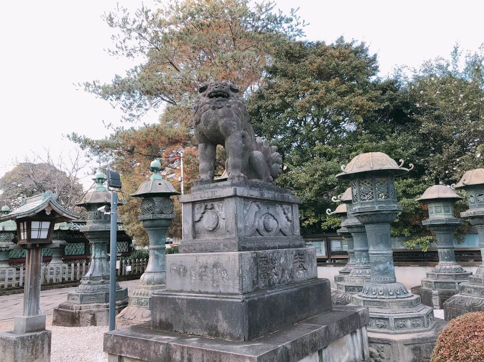 上野東照宮-狛犬