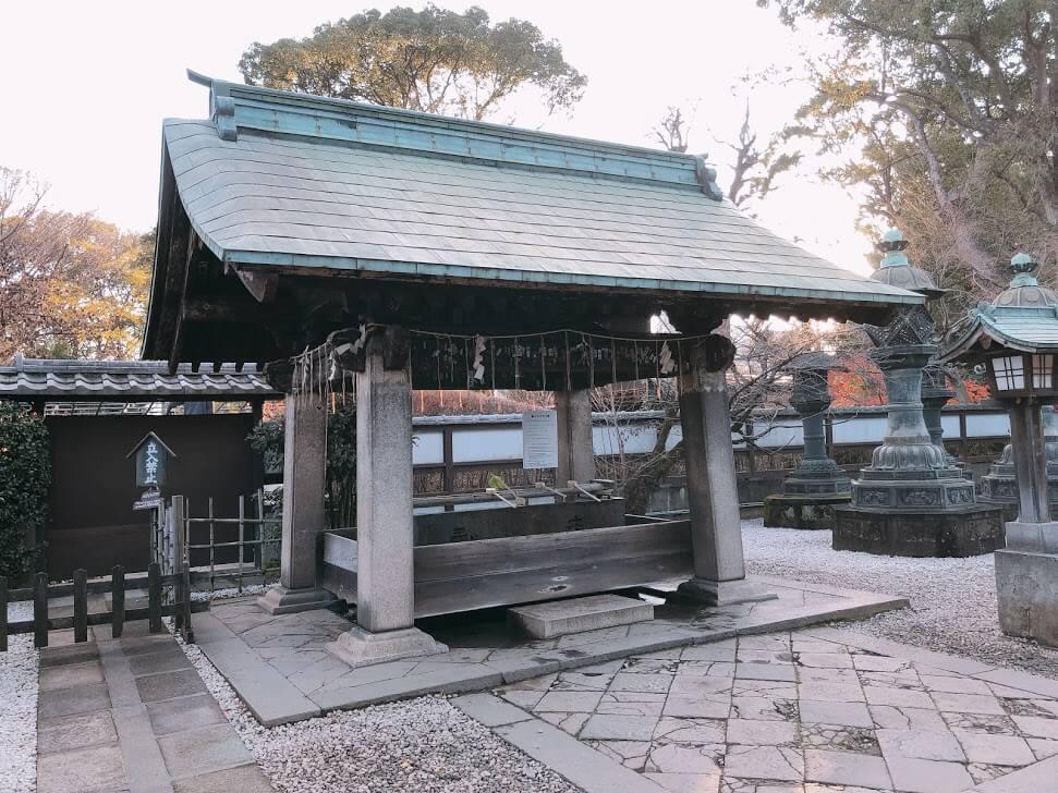 上野東照宮-水舎