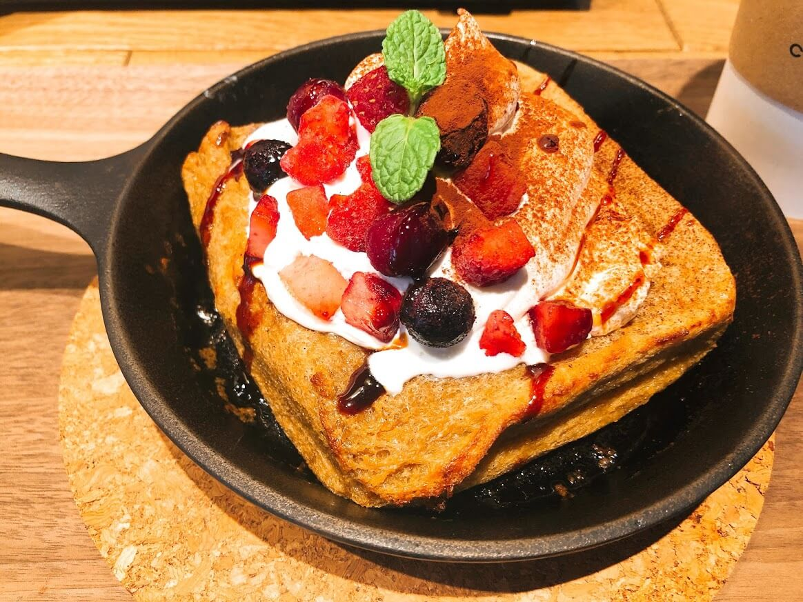 BLUE LEAF CAFE上野-ティラミスフレンチトースト