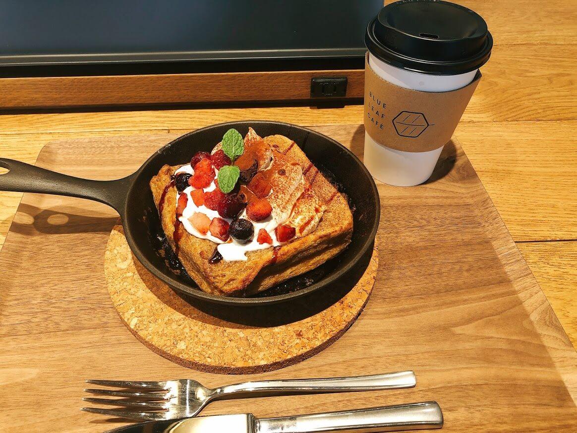 BLUE LEAF CAFE上野-フレンチトースト