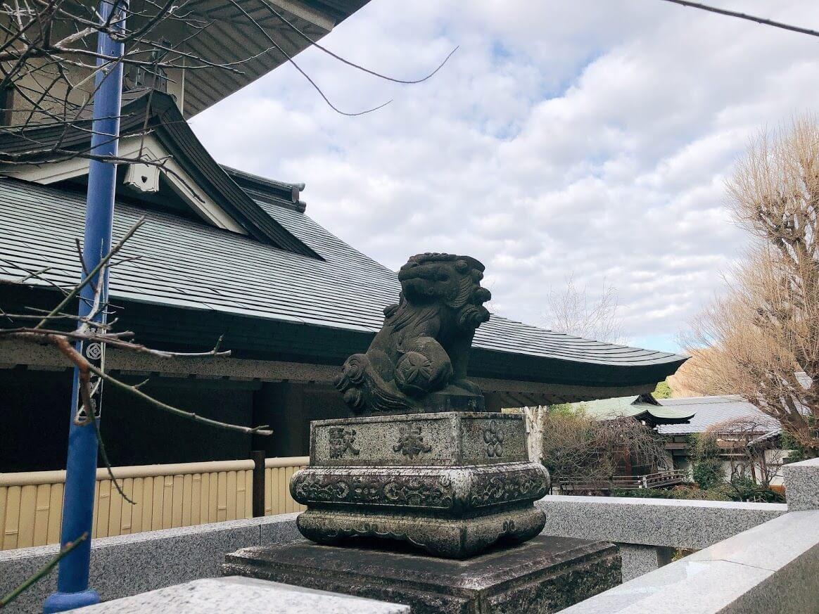 五條天神社-狛犬