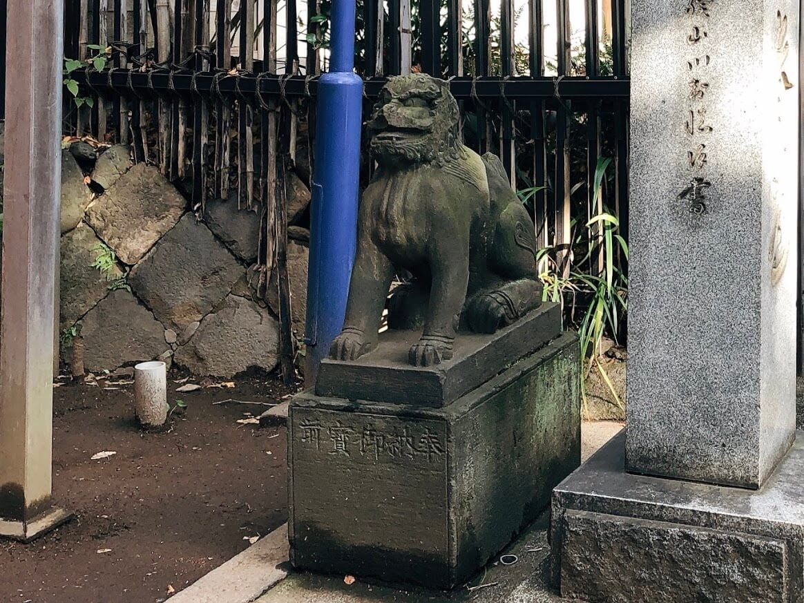 花園稲荷神社-狛犬