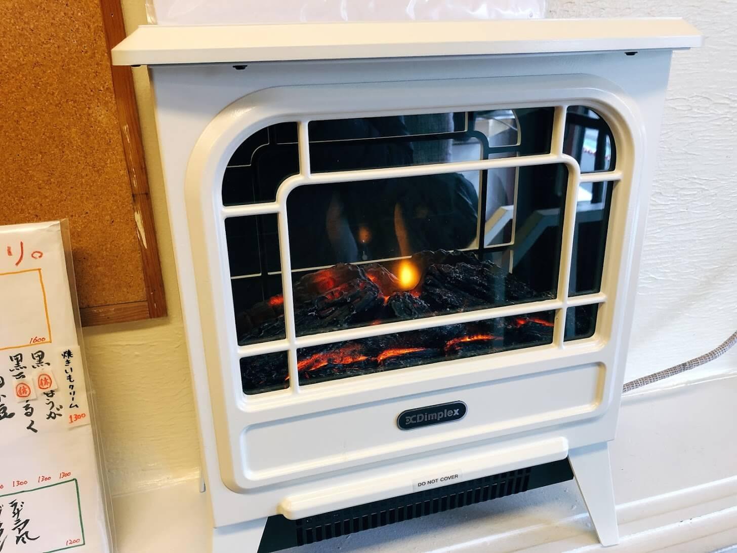 ひみつ堂-暖炉