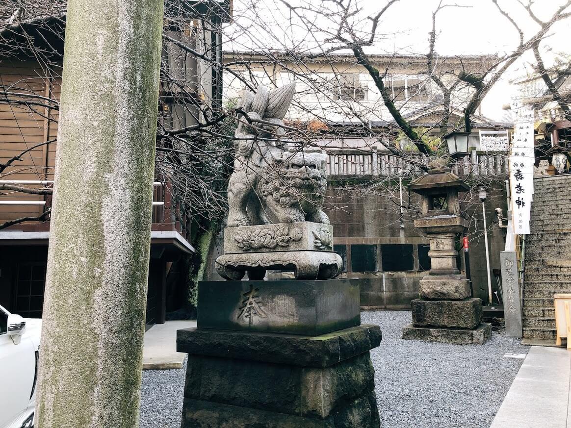 元三島神社-狛犬
