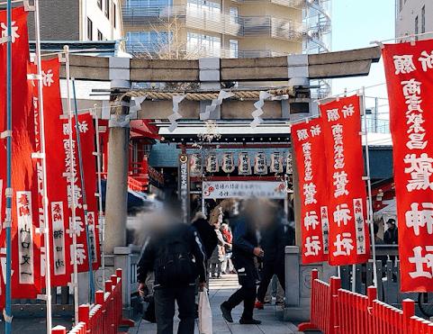 鷲神社-鳥居