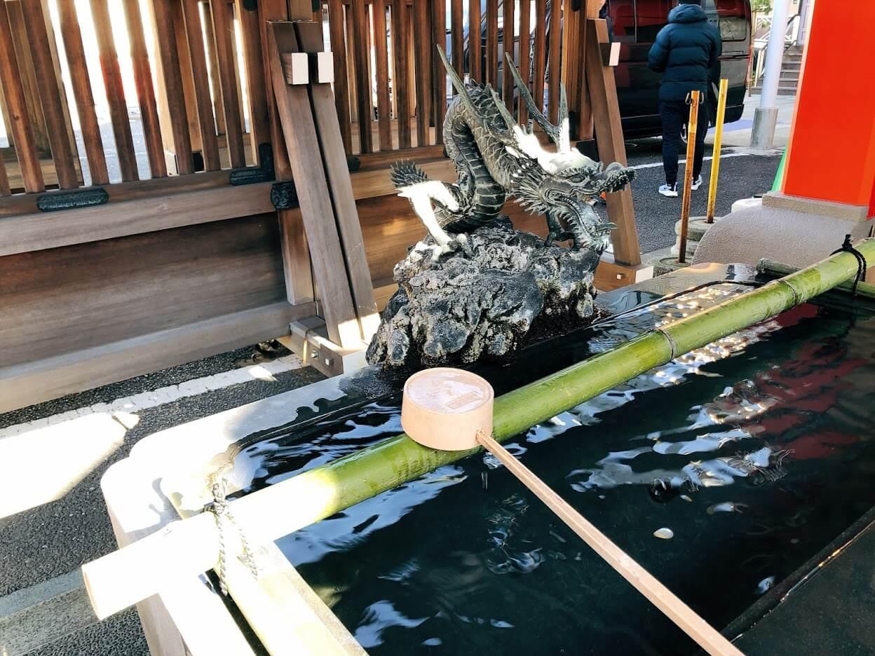 鷲神社-手水舎
