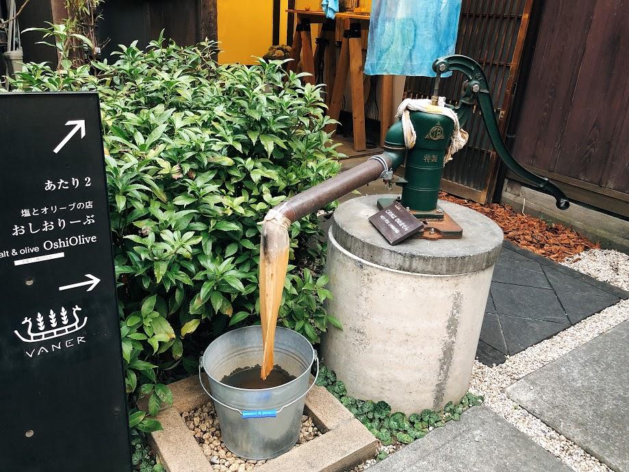 上野桜木あたり-井戸