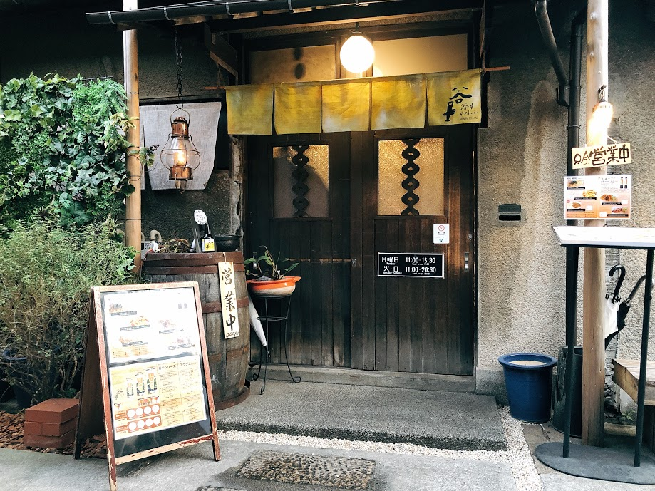 上野桜木あたり-谷中ビアホール