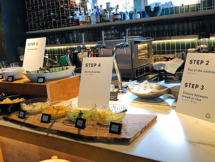 ランダバウトテーブル-朝食