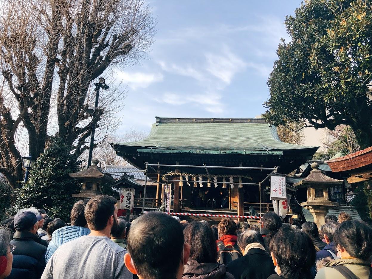 五條天神社-うけらの神事