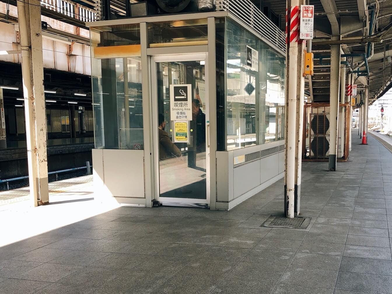 上野駅喫煙所