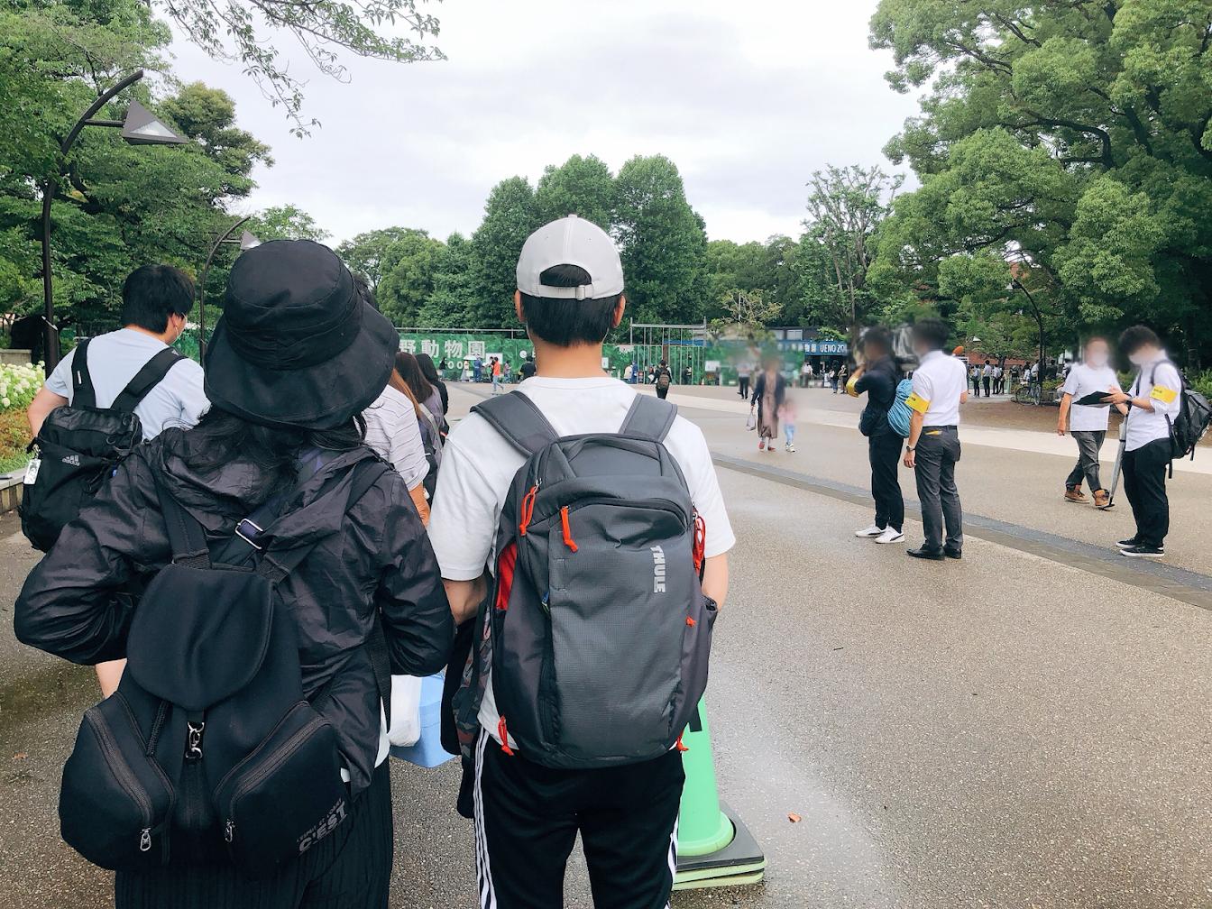 上野動物園再開あ